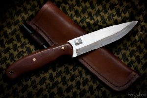 1095 Knife Steel - The Woodsman Trapper