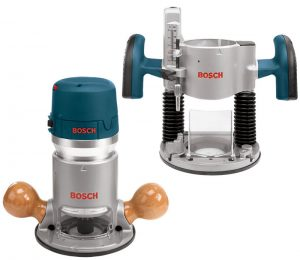 Bosch 1617EVSPK Router Kit with 1 4-Inch and 1 2-Inch Collets