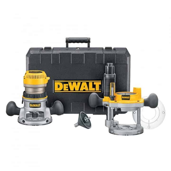 DEWALT DW618PK Plunge and Fixed-Base Router Kit