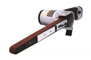 Astro 3037 12-Inch x 18-Inch Air Belt Sander with Belts