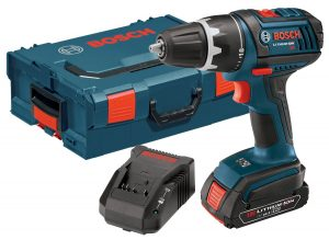 Bosch DDS181-02 Lithium-Ion 12-Inch Compact Tough DrillDriver Kit