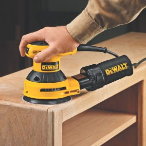 DEWALT D26451K Corded 5-Inch Sander with Cloth Dust Bag