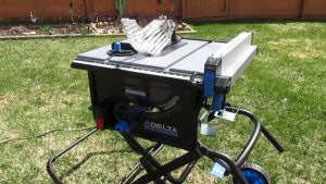 Delta Power Tools 36-6020 10 Portable Table Saw with Stand