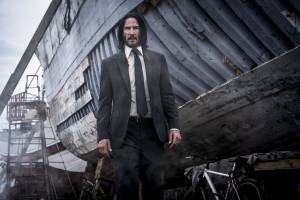 Keanu Reeves stars as 'John Wick' in JOHN WICK: CHAPTER 3