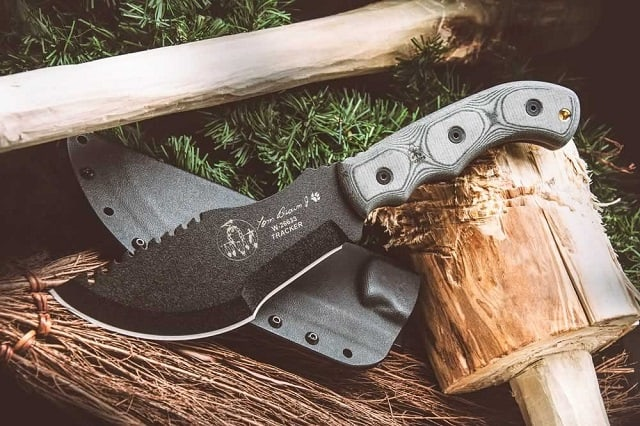 tom brown tracker - knife from the hunted